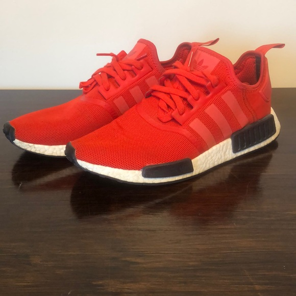adidas Shoes   Adidas Nmd R Clear Red
